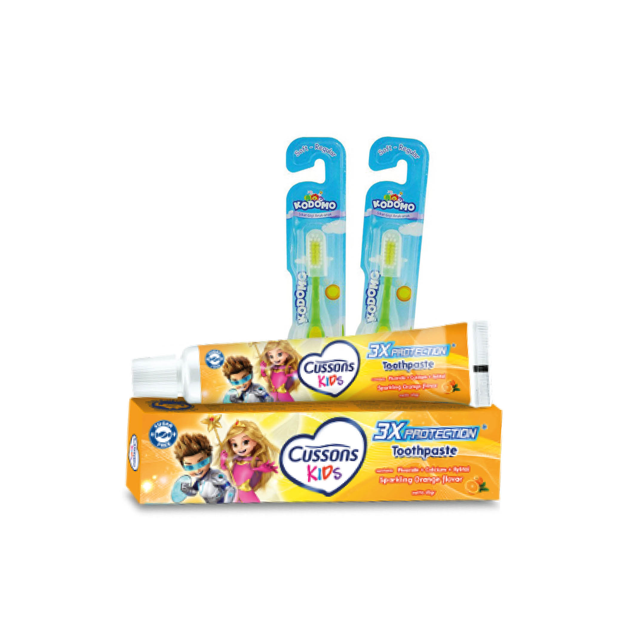Baby and kid oral care