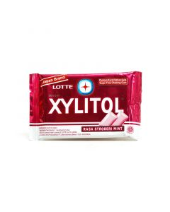 Lotte Xylitol Strawberry Blister 11.6 g